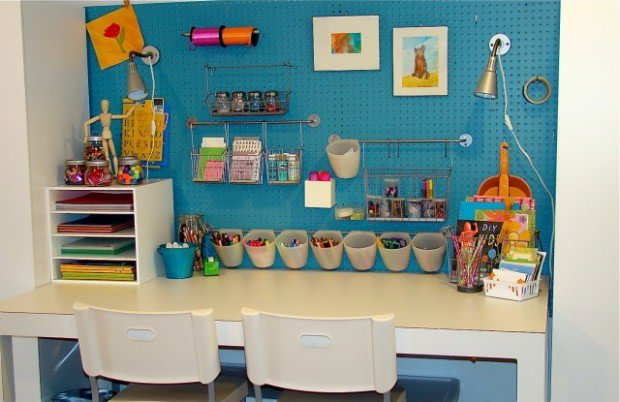 Back To School Ideas For A Kid Friendly Study Area