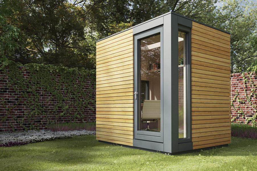 Prefabricated Garden Office. Prefabricated Garden Office 2