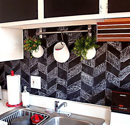 Splash Out In The Kitchen News MyProperty New Chalkboard Paint Backsplash Remodelling
