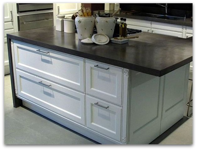 concrete counters offer strength, style and are seemingly timeless ...